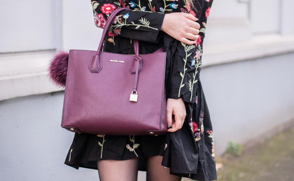 Lara Ira Michael Kors Mercer Bag, Daisy Street Overknee