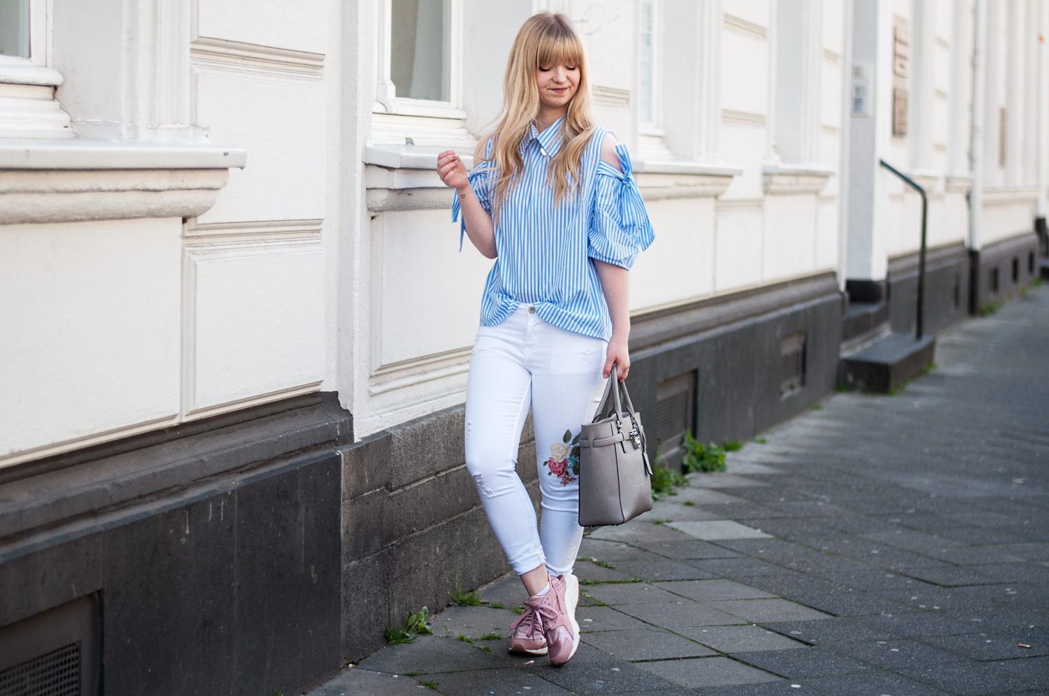 HOW TO WEAR: SERENITY COLD-SHOULDER BLOUSE