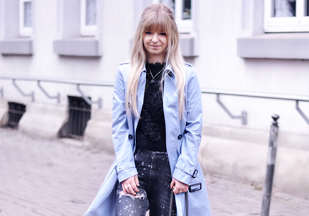 HOW TO WEAR: BABYBLUE TRENCHCOAT